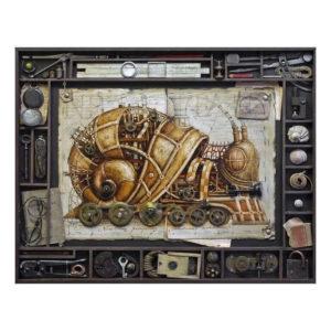 Cuadros Steampunk