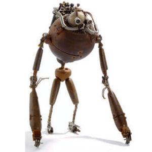 Robots Steampunk