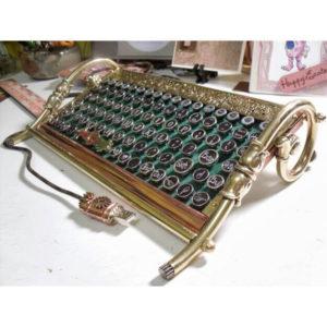 Teclado Para Computadora steampunk