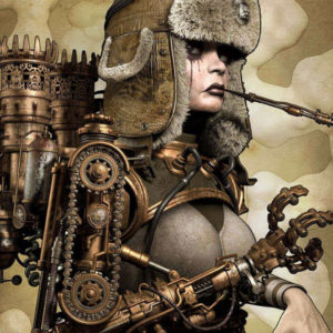 Wallpaper Steampunk