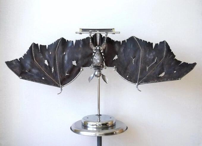 Artesano Crea Increíbles Esculturas Steamkpunk de Animales