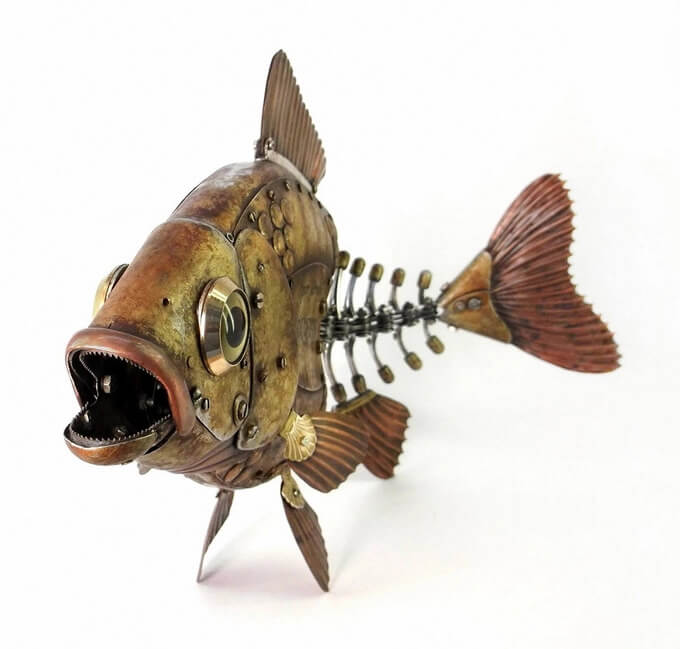 Animal Steampunk Pesce